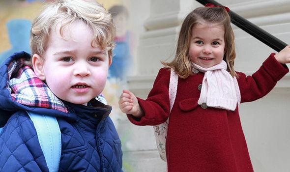 Jak George i Charlotte zwracają się do księżnej Camilli?