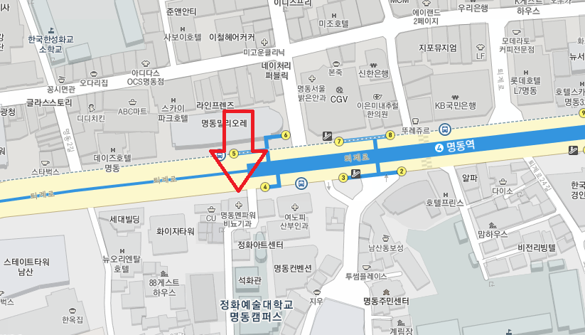 Myeongdong Shuttle Bus from Myeongdong Seoul to Alpensia Resort