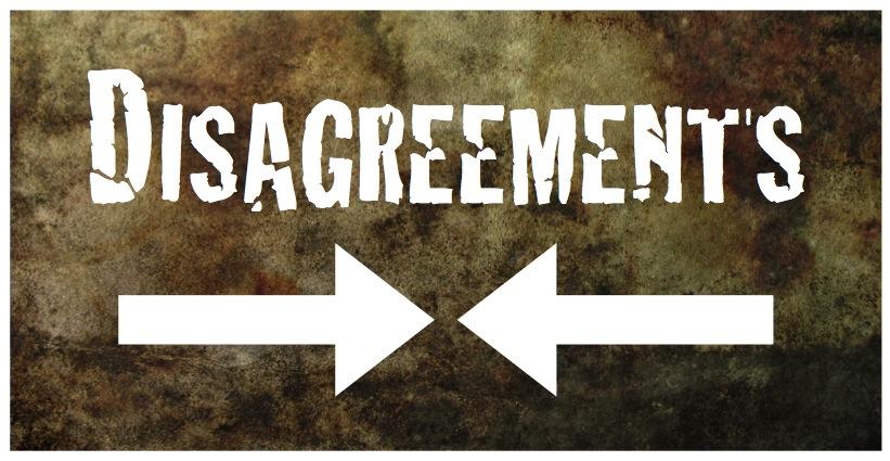 Disagreements ile ilgili görsel sonucu