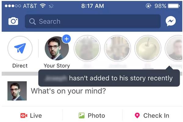 Facebook presenta Stories para las Páginas