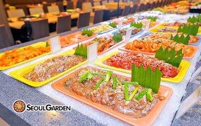 Seoul Garden Weekday Korean BBQ Lunch Buffet Discount Promo Price
