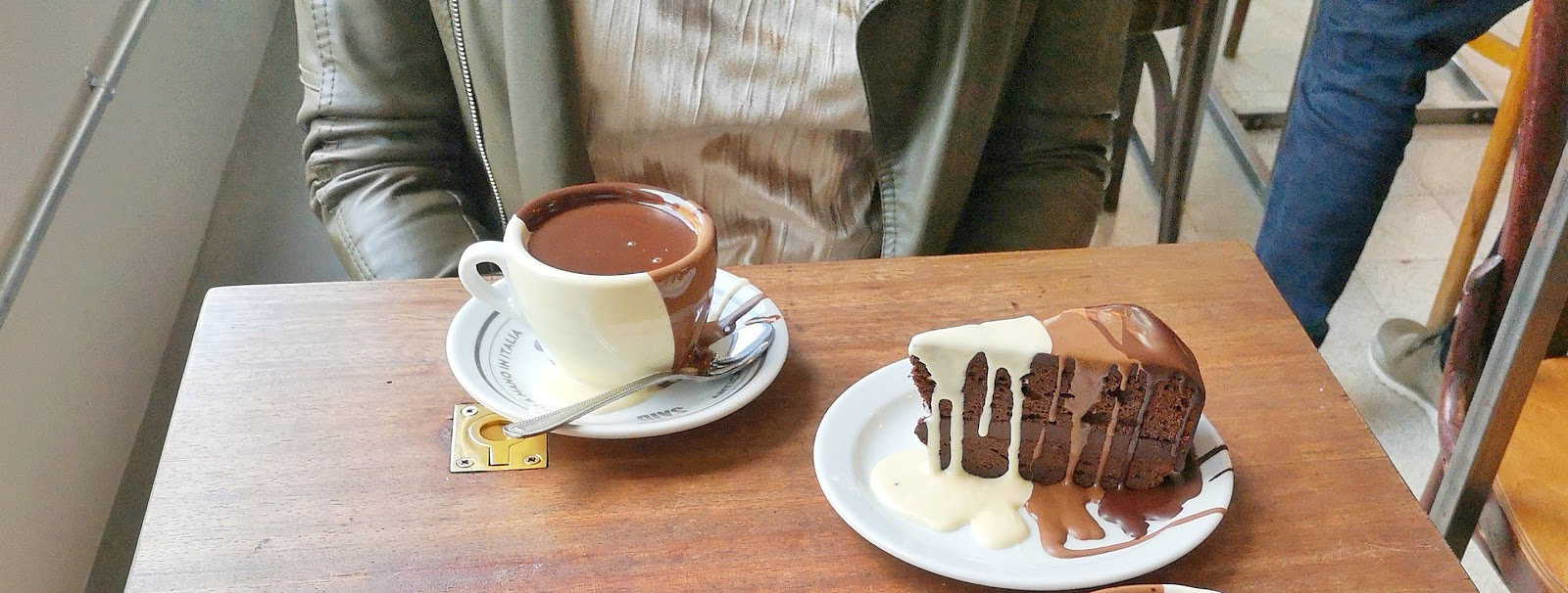 Best hot chocolate in London review - Said Dal 1923