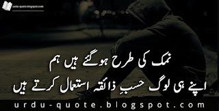 Sad Urdu Quotes 14