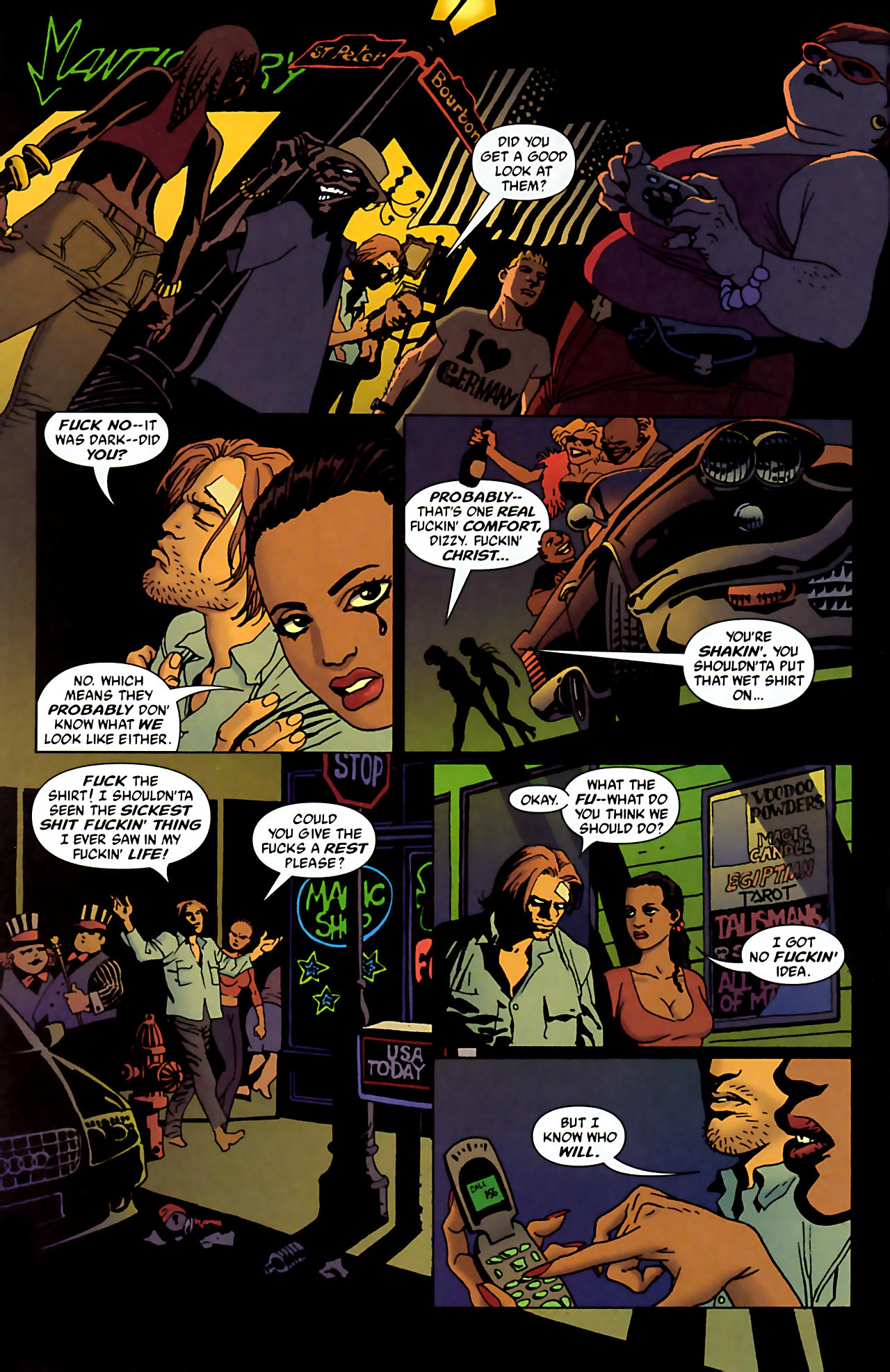 Read online 100 Bullets comic -  Issue #52 - 15