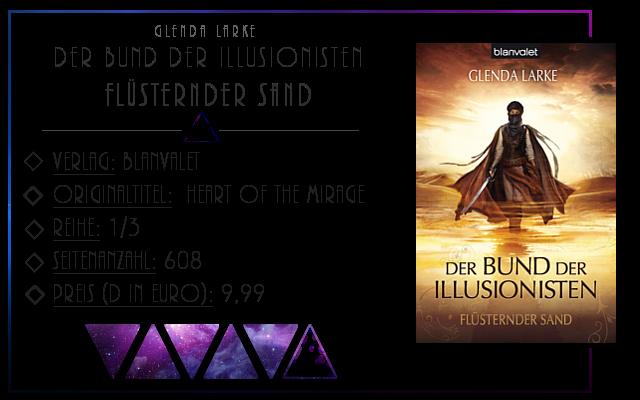 [Rezension] Der Bund der Illusionisten: Flüsternder Sand - Glenda Larke