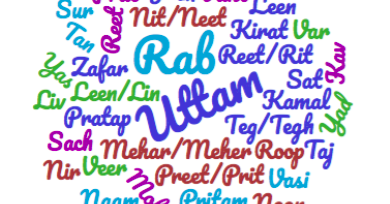 Sikh Names: Prefix and Suffix