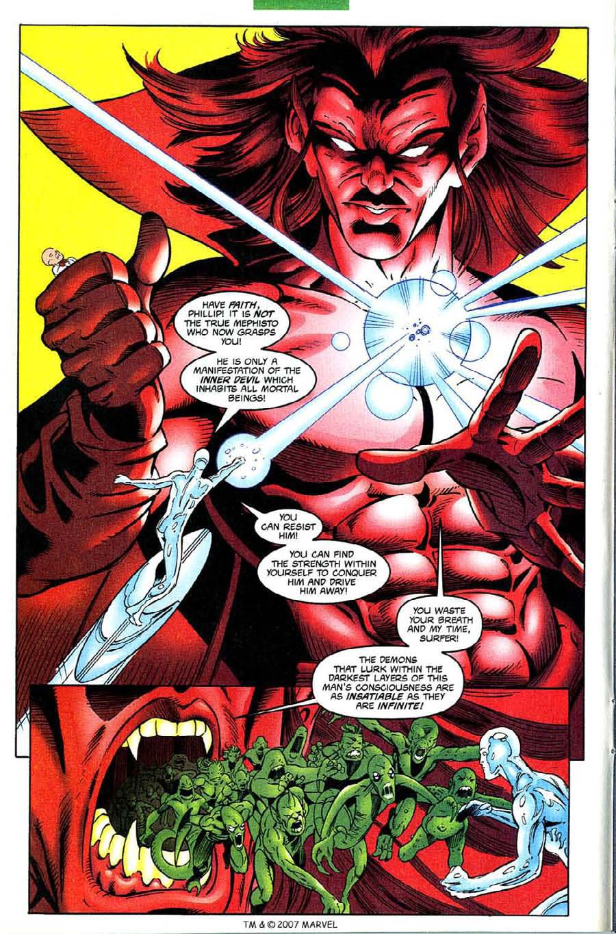 Read online Silver Surfer (1987) comic -  Issue #133 - 14