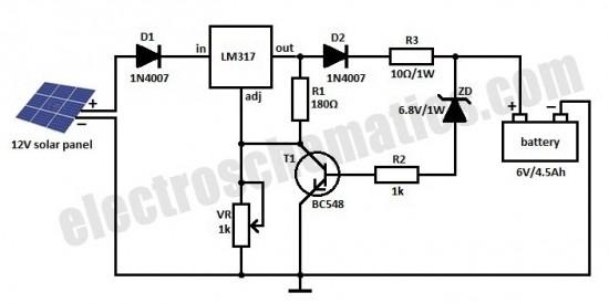 Benim hobim elektronik...: SOLAR PANEL ŞARJ CİHAZI-2