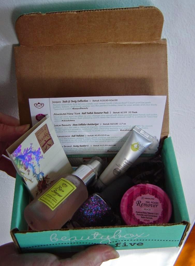 Beauty Box 5 December 2014
