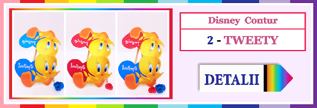 http://www.bebestudio11.com/2017/12/invitatii-gemeni-2-tweety-disney-contur.html