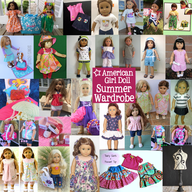 American Girl Doll Giveaway of a Summer Wardrobe valued at $595. Win clothing and accessories for your doll! #AGDoll #AmericanGirlDoll #Giveaway