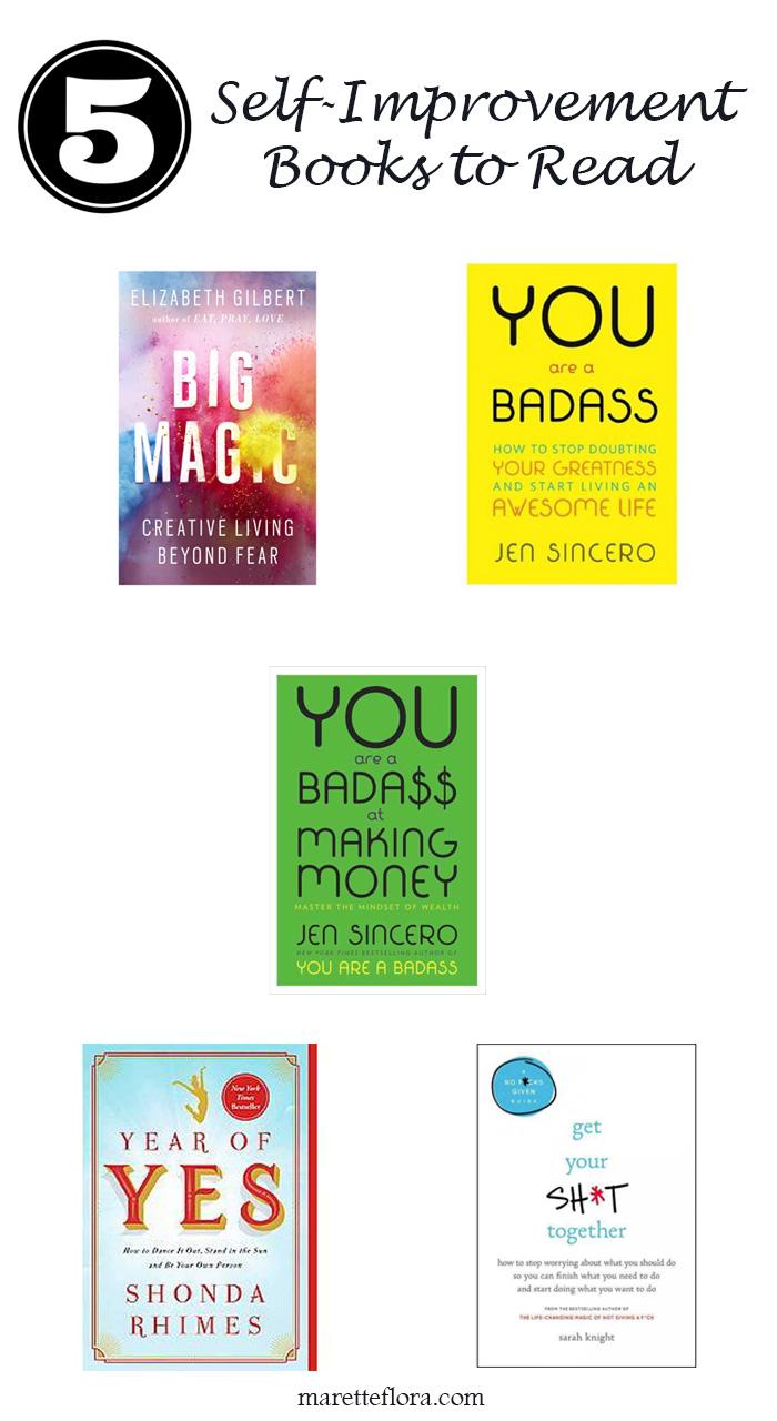 5 Self_Help Books to Read