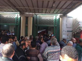 صور وفيديو الصلاة وتشييع الجنازة على محمد سلامة إينو نجم المصرى ومنتخب مـصـر السابق