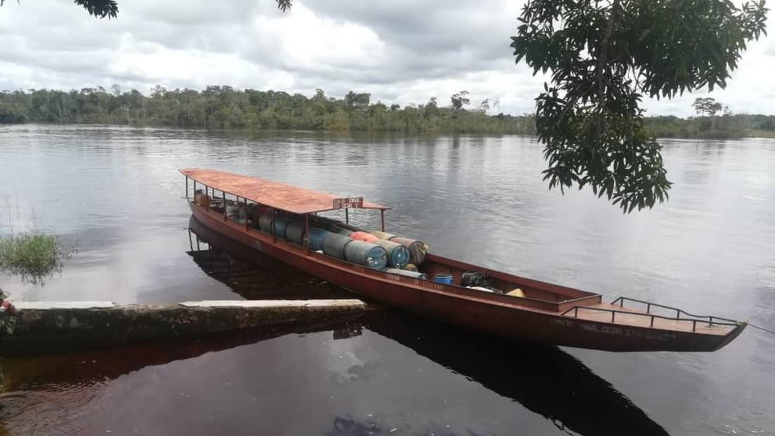 """Venezuela interceptó embarcación colombiana """"con características del contrabando de combustible"""" pero """"camuflajeada como ayuda humanitaria"""""""