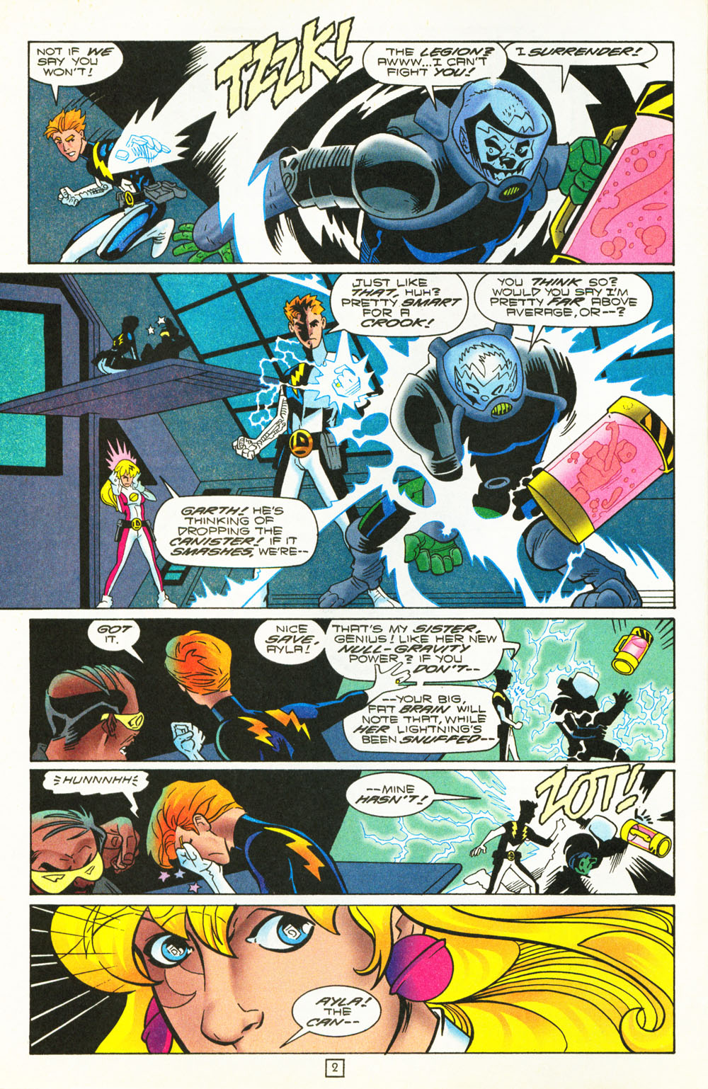 Legion of Super-Heroes (1989) 101 Page 2