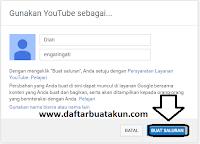 Daftar akun youtube cara membuat akun youtube