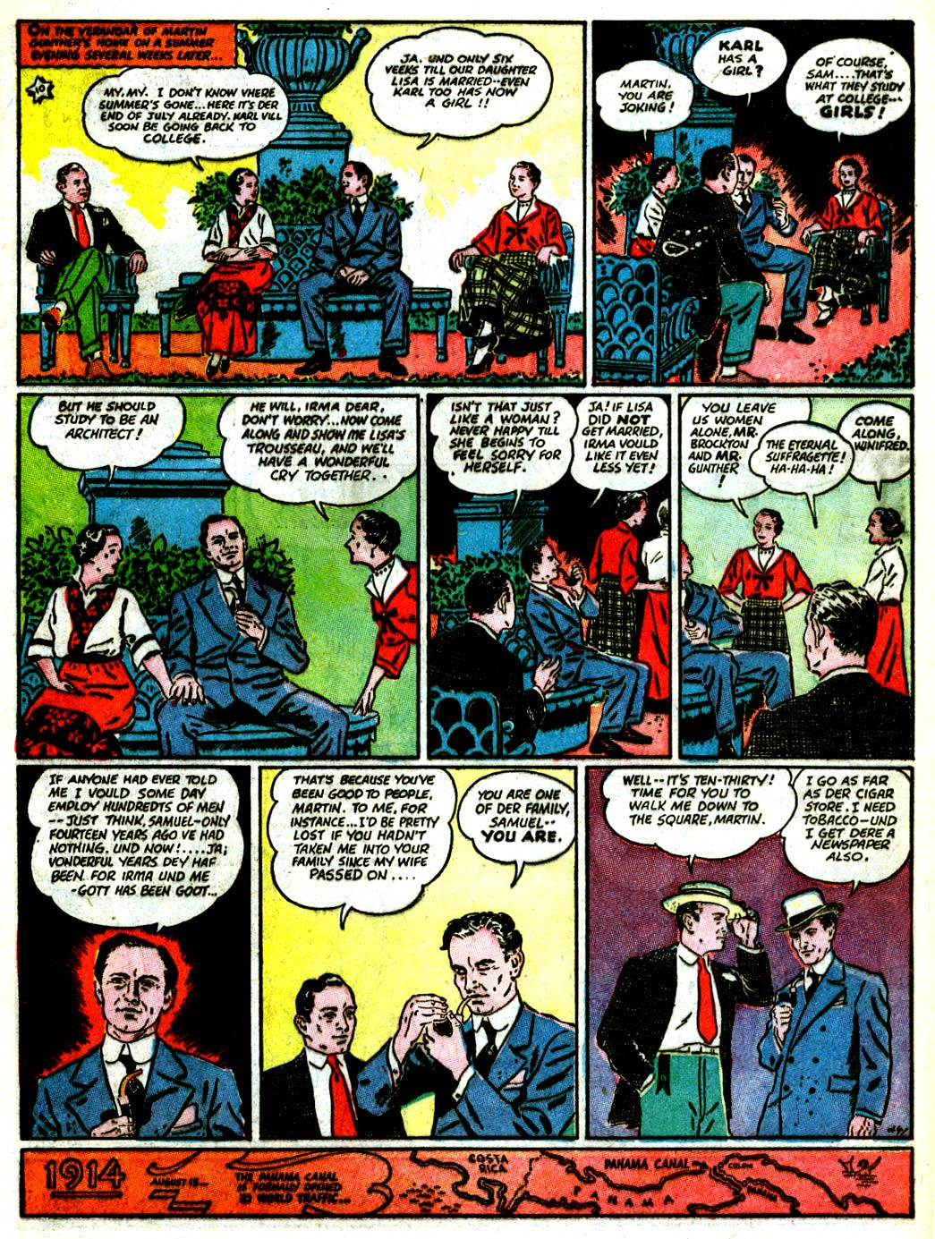 Read online All-American Comics (1939) comic -  Issue #7 - 35