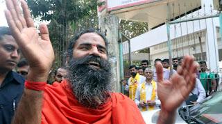 Yoga guru Ramdev,