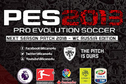PES 2013 Next Season Patch AIO 2018 World Cup 2018 Russia Edition PC
