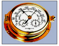 الضغط الجوي بارومتر