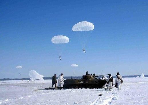 Воздушный десант - с неба в бой