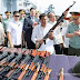 President Duterte Accepts AK Rifles, Military Vehicles, Steel Helmets, Ammo From Russia