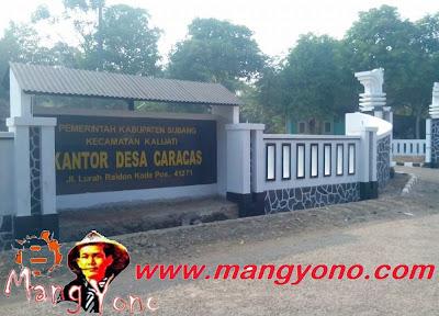 Desa Caracas, Kecamatan Kalijati. Kabupaten Subang.