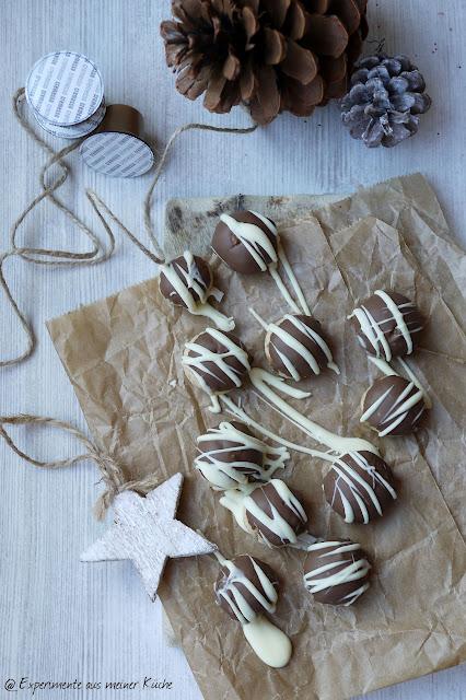 Experimente aus meiner Küche: Caramello Kugeln mit Espresso [Weihnachtsbäckerei]