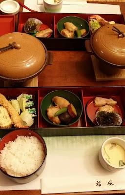 ヴァークスイート箱根の夕ご飯
