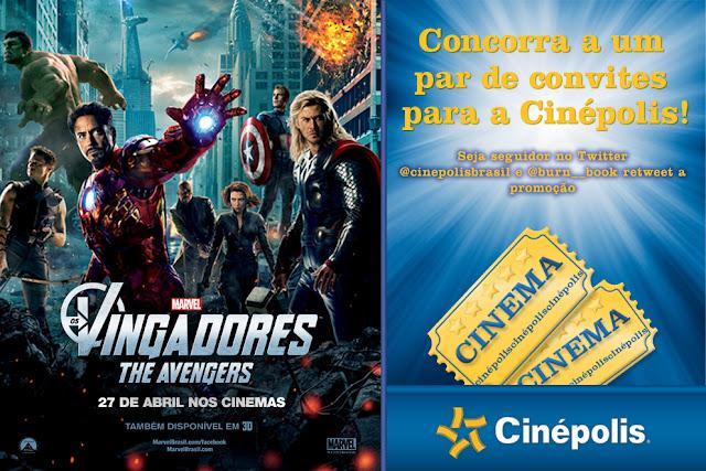 #Promo: Concorra a um par de convites para assistir Os Vingadores na Cinepolis. 7