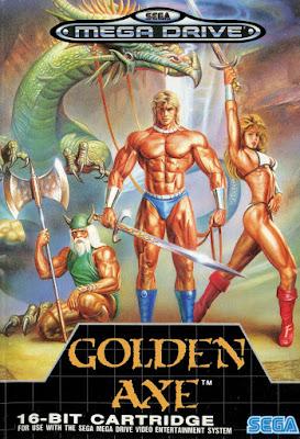 Portada videojuego Golden Axe