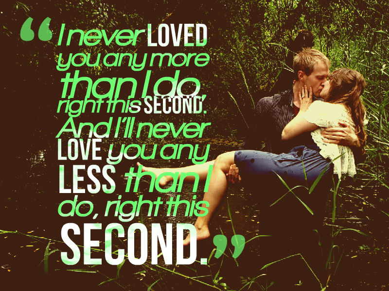 Romantic Love couple Quotes with Images