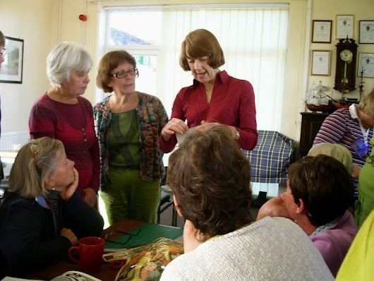 Terry Murphy's visit to North Wales Embroiderer's Guild