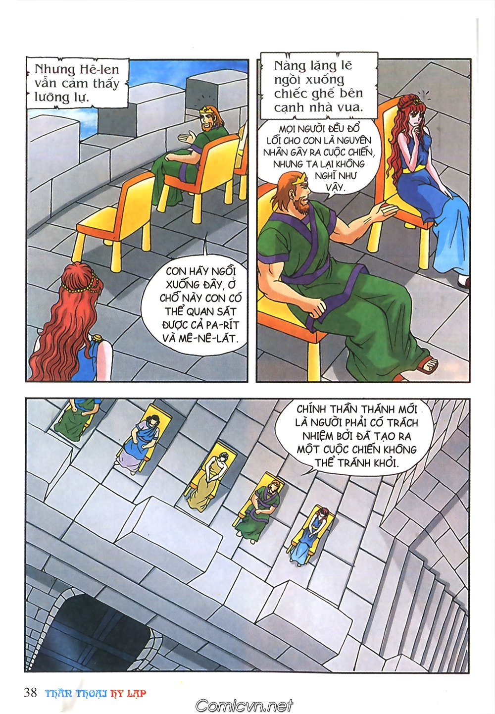 Thần Thoại Hy Lạp Màu - Chapter 57: Cuộc chiến định mệnh - Pic 35