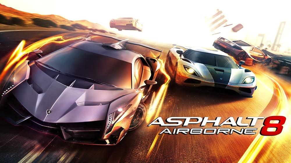 Asphalt 8 Airborne APK Download Poster