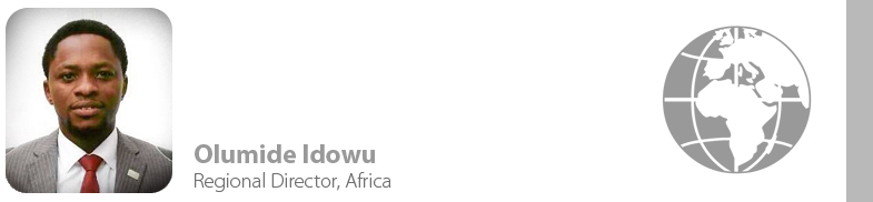 Olumide Idowu, IYF Regional Director for Africa