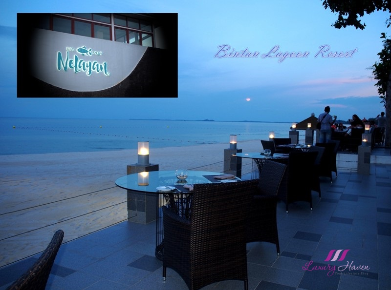 bintan resorts nelayan beachfront bar seafood restaurant review