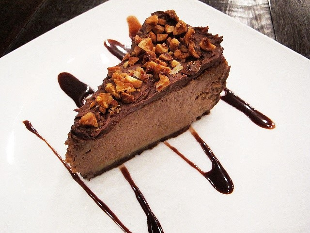 URBN Bar and Kitchen Nutella and Candied Hazelnut Cheesecake