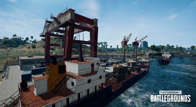 Docks di Map Sanhok PUBG