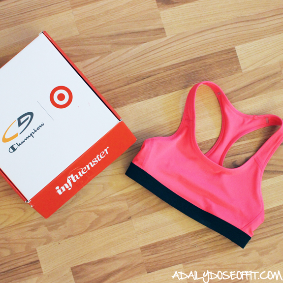 Find comfortable sports bras from Target.