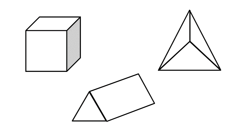 Mewarnai Gambar Bentuk 3 Dimensi Aneka Mewarnai Gambar