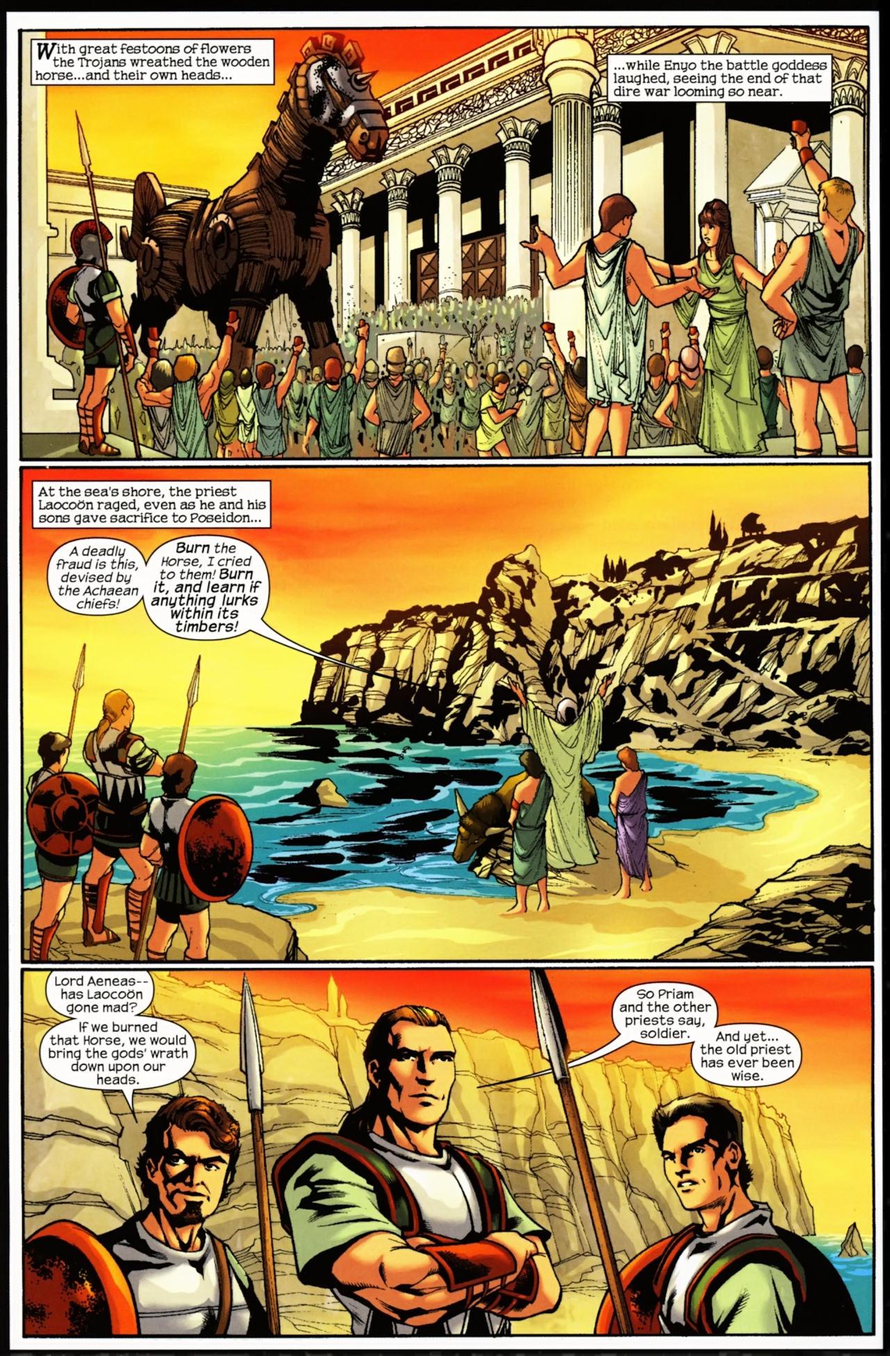 Read online Trojan War comic -  Issue #5 - 3