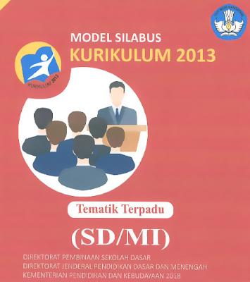 model silabus kurikulum 2013 sekolah dasar sd