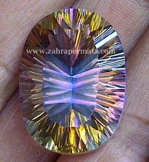 Batu Permata Mystic Quartz - ZP 201