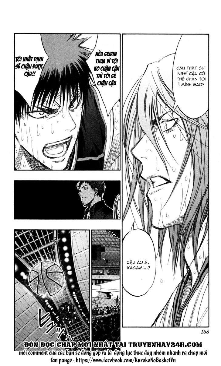 Kuroko No Basket chap 161 trang 10