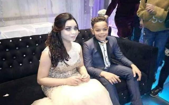 بالفيديو حفل خطوبة طفلين يثير ضجة كبيرة في مصر.