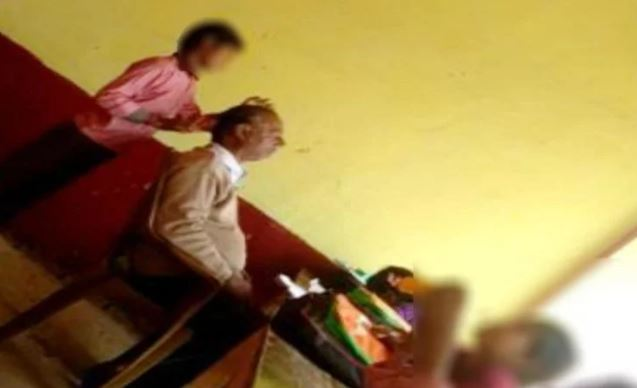 स्कूल में शिक्षक छात्रों से कराते हैं मालिश, वीडियो वायरल - newsonfloor.com