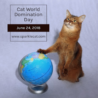 Cat World Domination Day 2018