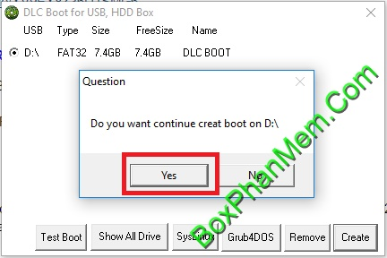 Hướng dẫn tạo USB Boot cứu hộ bằng công cụ DLC Boot 2017 v3.4