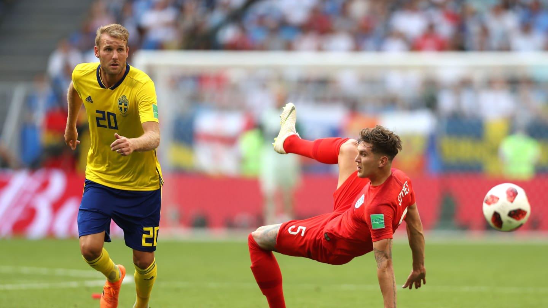 Inglaterra 2 x 0 Suécia